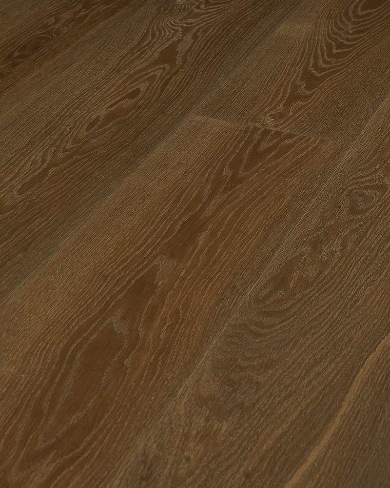 Oak extra wide plank brushed smoked oiled Authentic