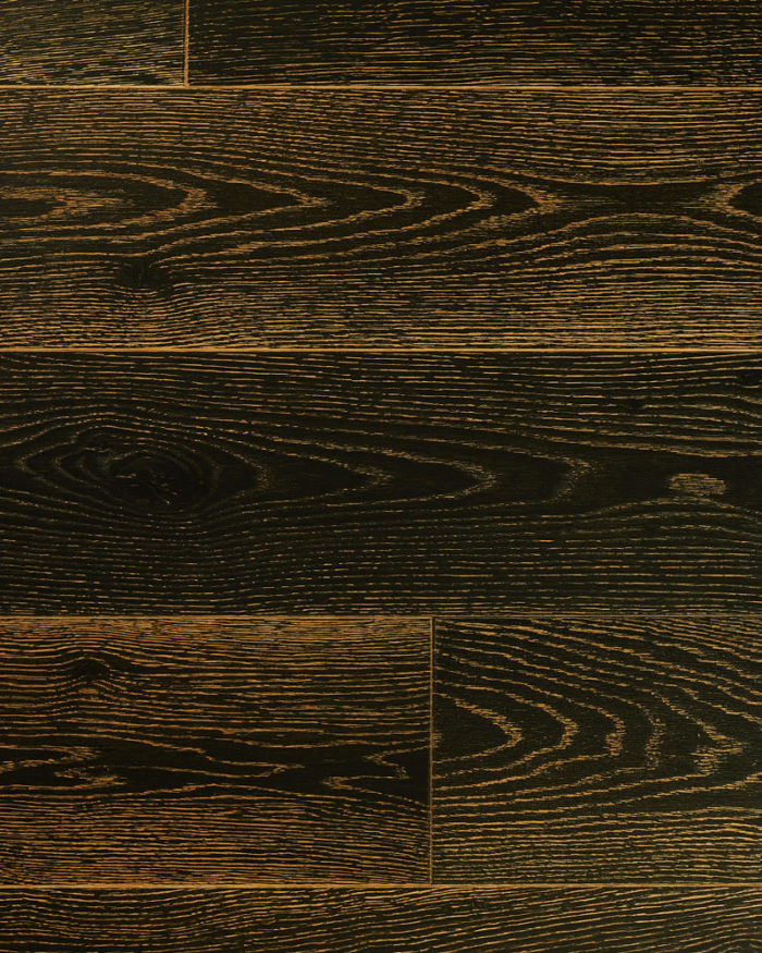 Oak solid super wide plank brushed oiled stained Barkan