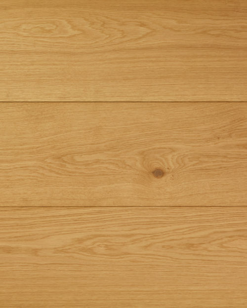 Oak wide plank solid brushed oiled Brut