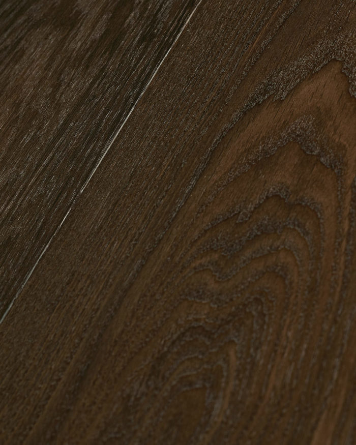 Oak wide plank brushed smoked oiled Deep Down Moder
