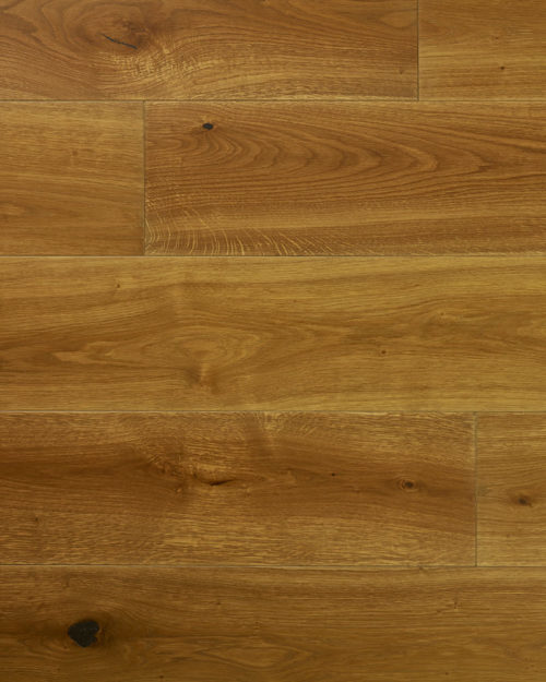 Oak wide plank sanded smoked and oiled Esta