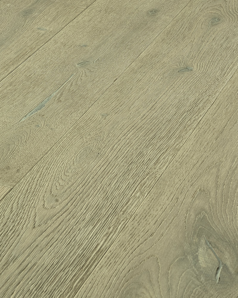 Oak wide plank solid brushed stained oiled Fira