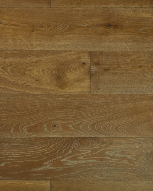 Oak extra wide plank brushed smoked oiled Fleuris