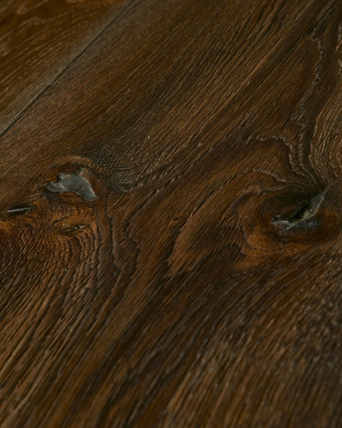 Oak extra wide plank brushed smoked oiled Fuerta