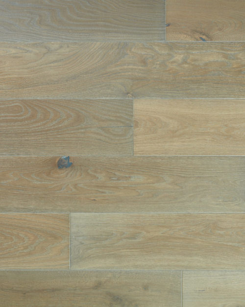 Oak wide plank brushed smoked and oiled Griseo