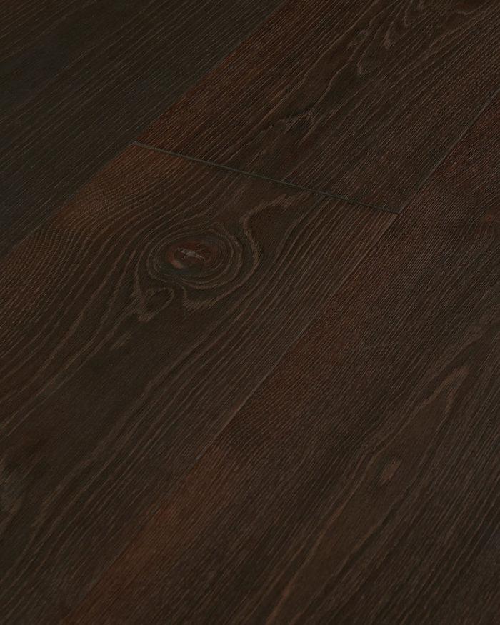 Oak wide plank brushed smoked oiled Haya