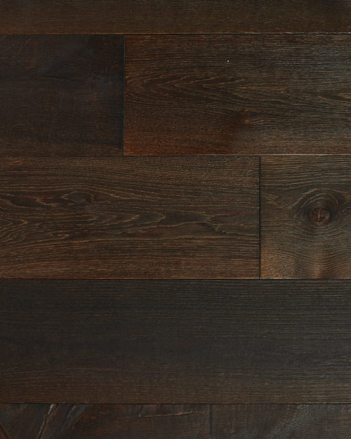 Oak wide plank brushed smoked oiled Haya