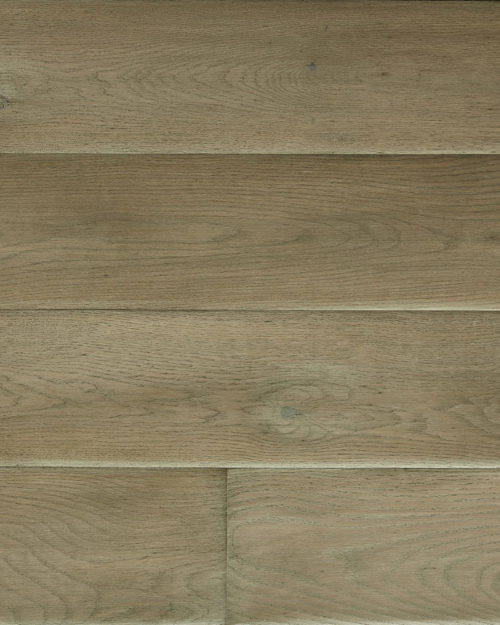 Oak extra wide plank sanded grey oiled bevel Haze