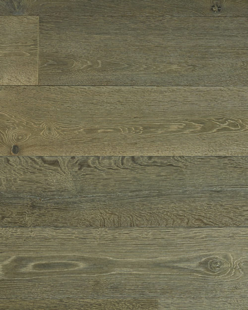 Oak extra wide plank brushed stained white oil Iris