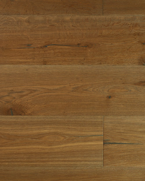 Oak super wide plank brushed smoked oiled Lavandel