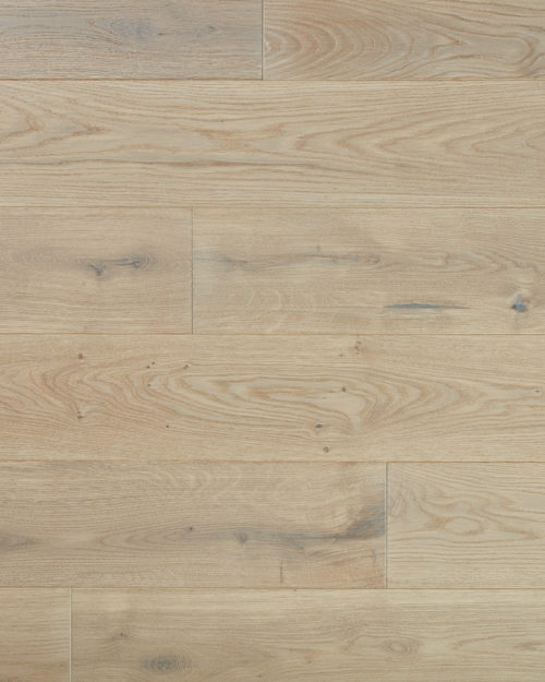 Oak wide plank brushed and oiled Monte Bianco