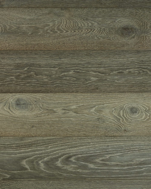 Oak extra wide plank brushed smoked oiled Nebula