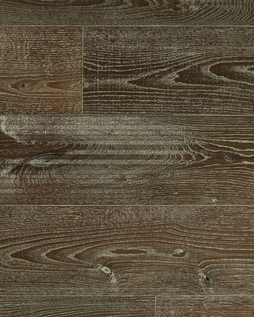 Oak super wide plank brushed deep smoked open knots oiled Nieve