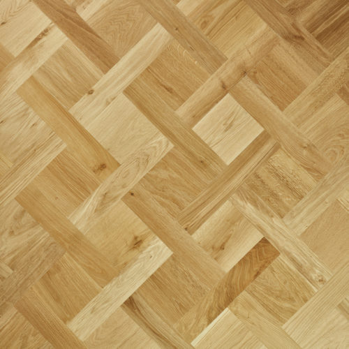 Oak engineered open versailles unfinished pattern brushed smoked oiled Open Versailles