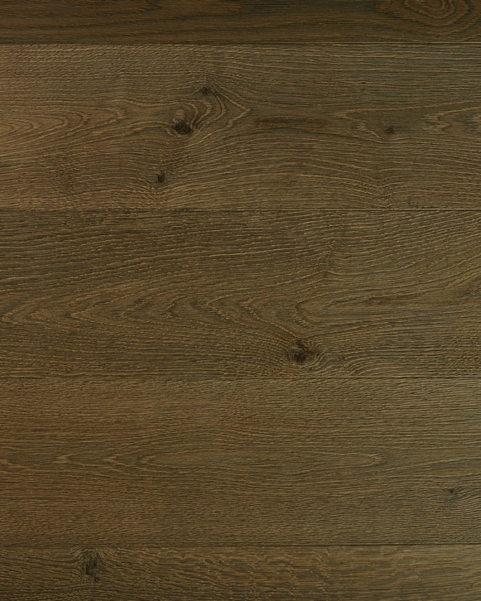 Oak extra wide plank heavy brushed stained oiled Paedor