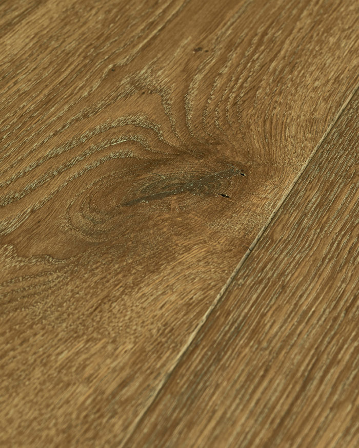 Oak super wide plank brushed smoked oiled Smoked Limed