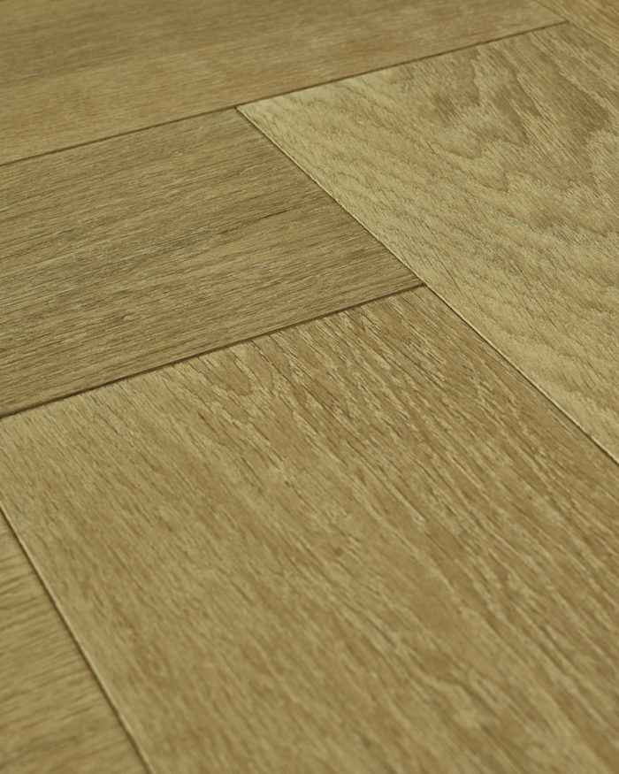 Oak herringbone parquet brushed smoked stained oiled Sophisticated