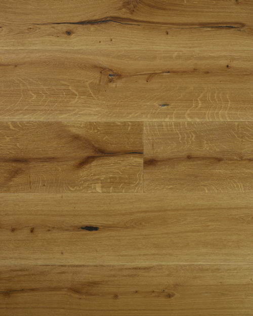 Oak wide plank brushed smoked and oiled Substantia