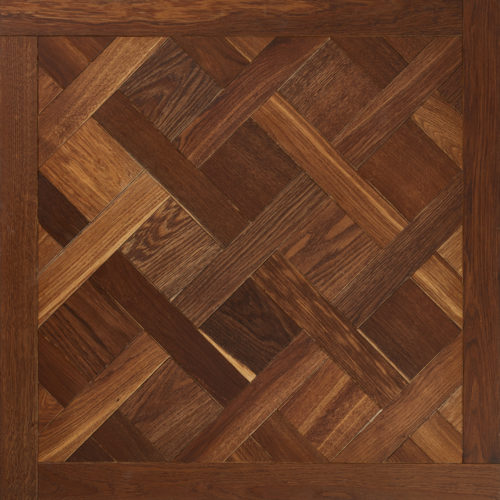 Oak wood engineered panel brushed smoked oiled Versailles Smoked Panel