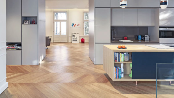 oak chevron parquet brushed smoked oiled